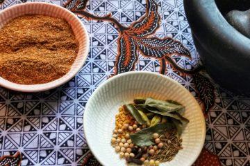 Selbstgemachtes Garam Masala - die indische Gewürzmischung