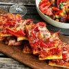 Spanische Coca Pizza - vegetarisch-header