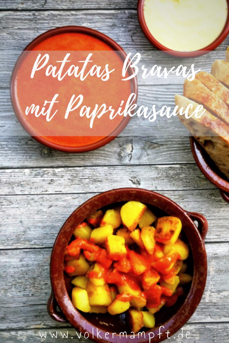 Pintererst Patatas Bravas mit Paprikasauce - der Tapas Klassiker