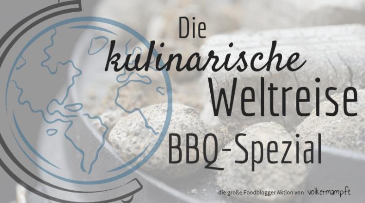 """Blogger Aktion """"Die kulinarische Weltreise von @volkermampft groß"""
