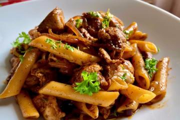 Pasta Pollo - Penne mit Hühnchen