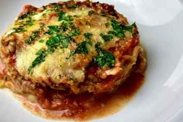 Parmigiana di Melanzane - Auberginen-Lasagne Low Carb und Vegetarisch