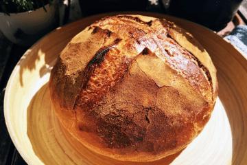 Pane di grano duro - italienisches Topfbrot mit Hartweizen
