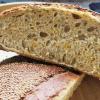 Zucchini-Thymian-Ricotta-Brot mit Sauerteig nach Zorra