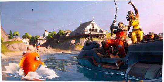 ¡Experiencia acuática, llegó la hora! Fuente: Epic Games