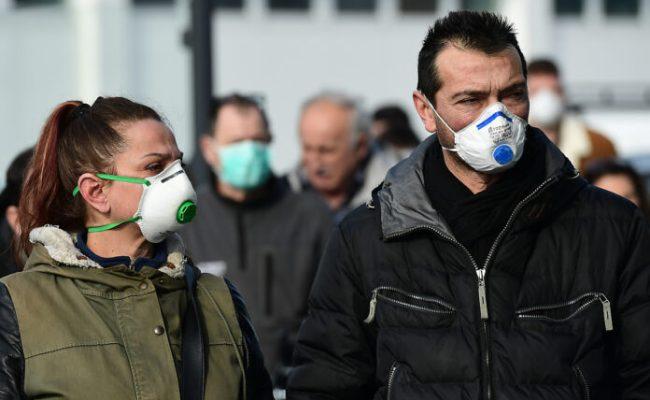 Norditalien Schottet Sich Nach Coronavirus Fällen Ab