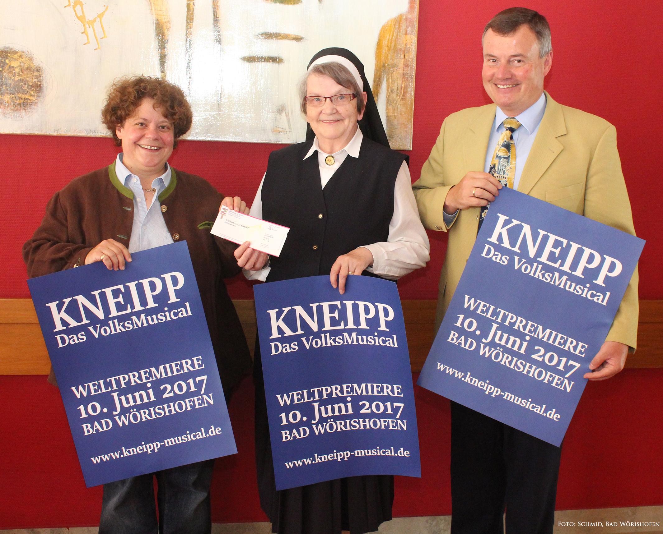 "Start des Kartenvorverkaufs ""VolksMusical KNEIPP"""