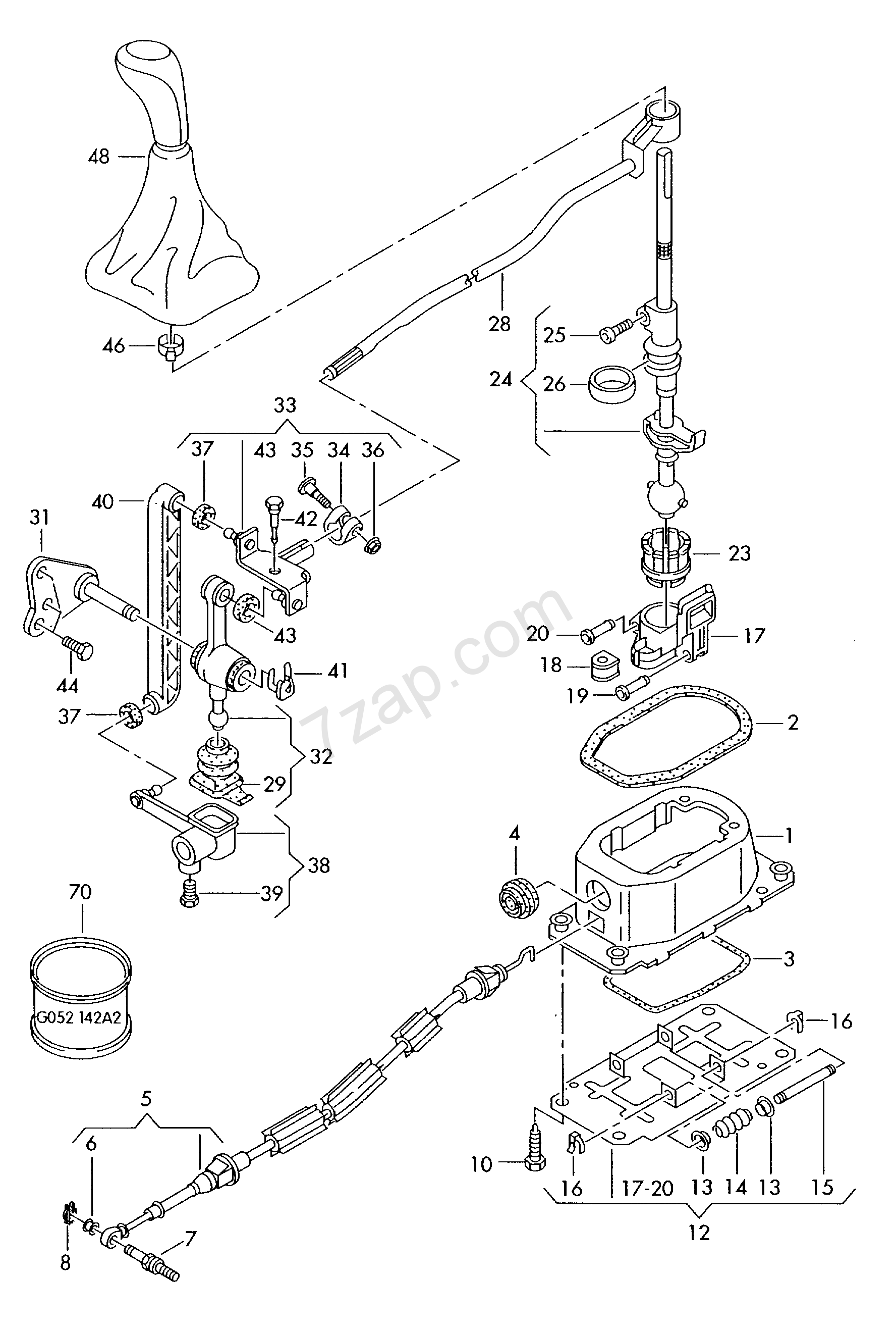 Selector Mechanism For Engine Code Letters Lupo Lupo 3l Tdi Lu Year Volkswagen Europa