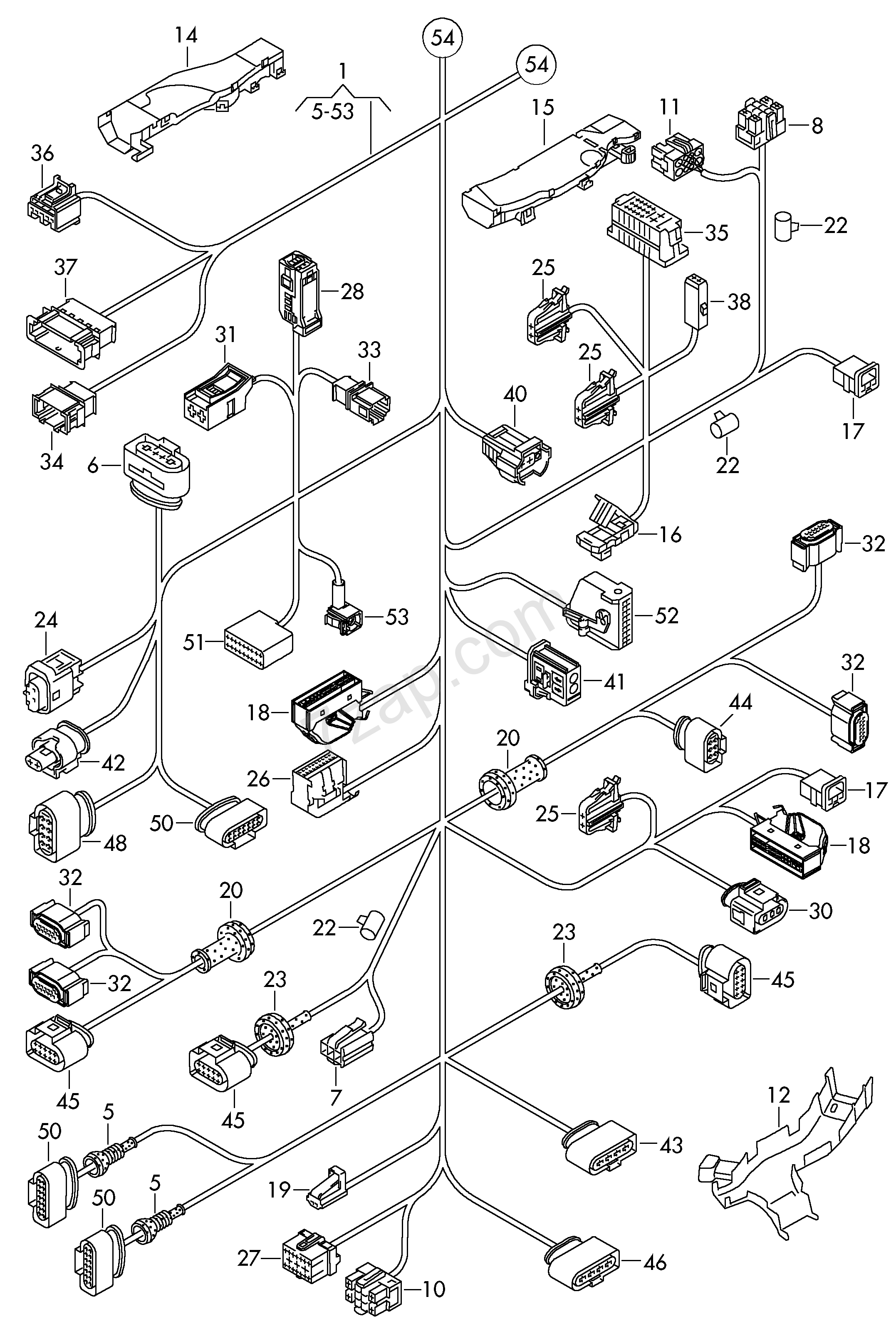 Vw touareg fuse box diagram wiring diagrams schematics
