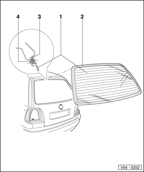 Volkswagen Workshop Manuals > Golf Mk3 > Body > General