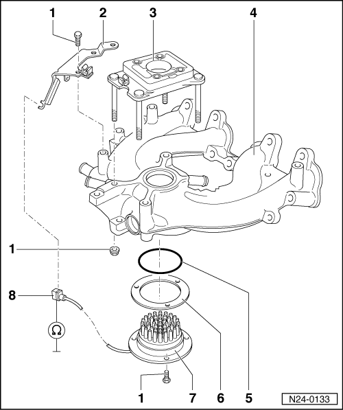 Volkswagen Workshop Manuals > Golf Mk3 > Power unit > Mono