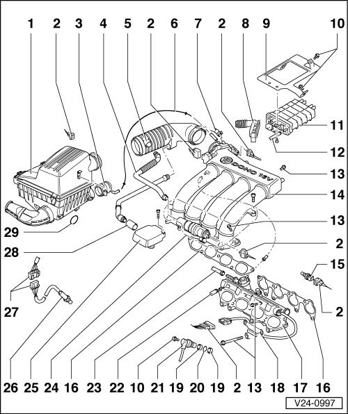Volkswagen Workshop Manuals > Golf Mk3 > Power unit
