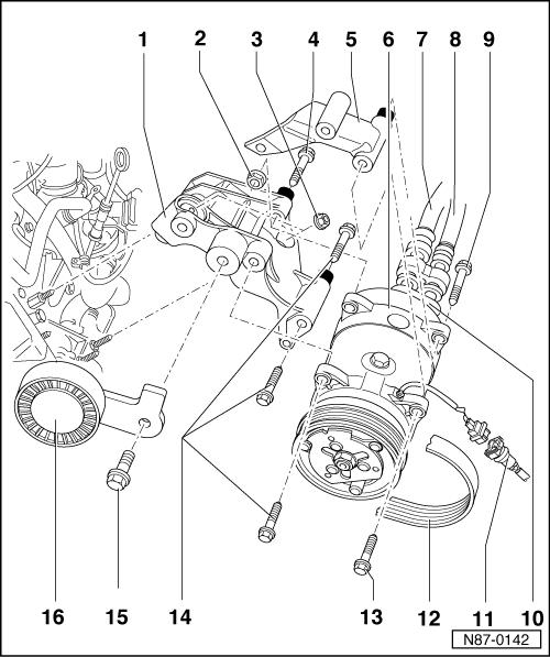 Установка кондиционера с нуля на Фольксваген Гольф 3