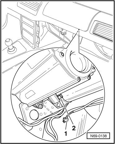 Volkswagen Workshop Manuals > Golf Mk4 > Body > Body self