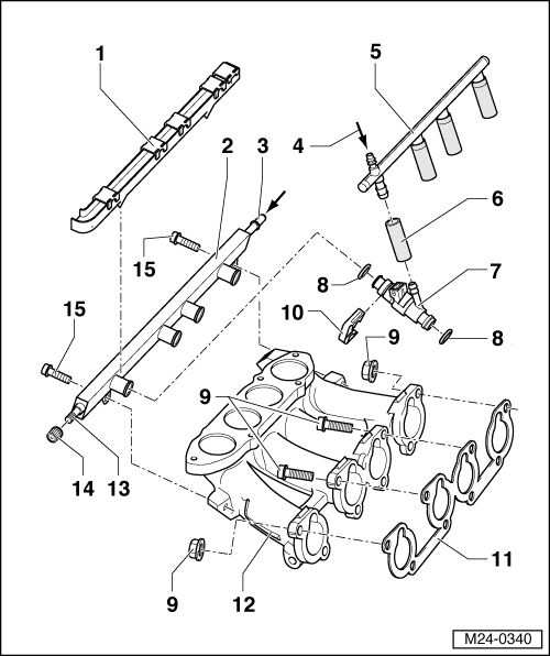 Volkswagen Workshop Manuals > Golf Mk4 > Engine > 4cyl