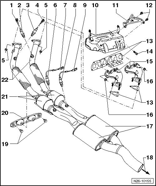 Volkswagen Workshop Manuals > Golf Mk5 > Power unit > 6