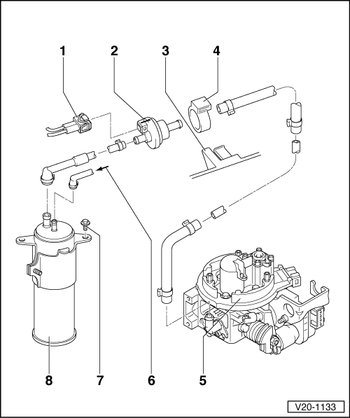 Volkswagen Workshop Manuals > Passat (B3) > Power unit > 4