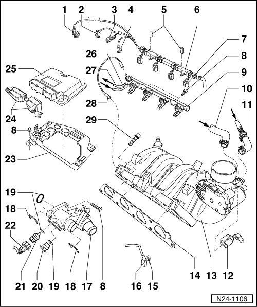 Volkswagen Workshop Manuals > Polo Mk3 > Power unit