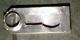 cut dryer duct