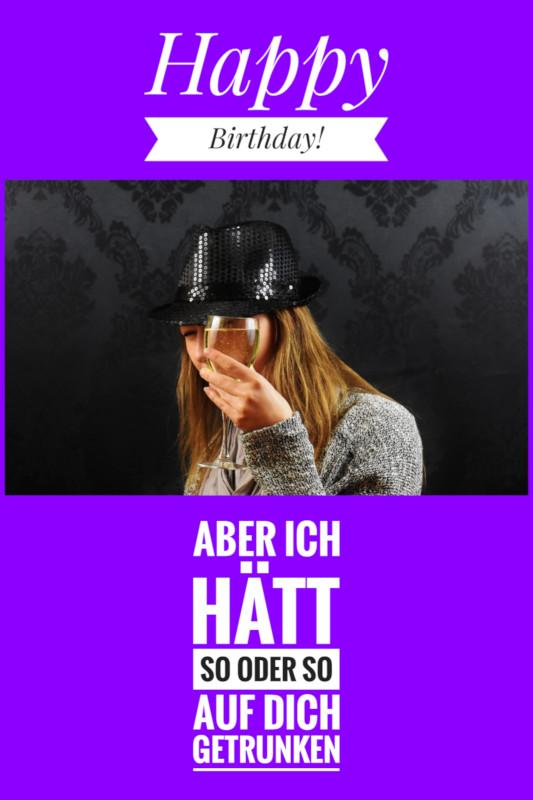 Beim Geburtstag darf man *äh* Frau mal lustig werden😘