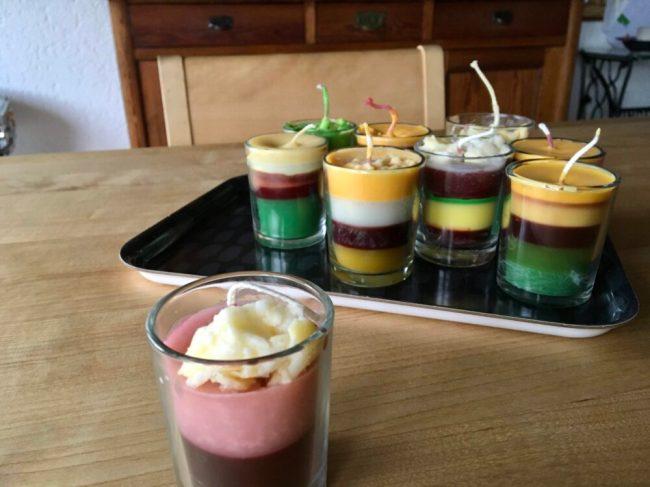 Dessertkerzen