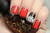 Lace Spiderweb & Orange Pinstripe Halloween Nail Art   How ...