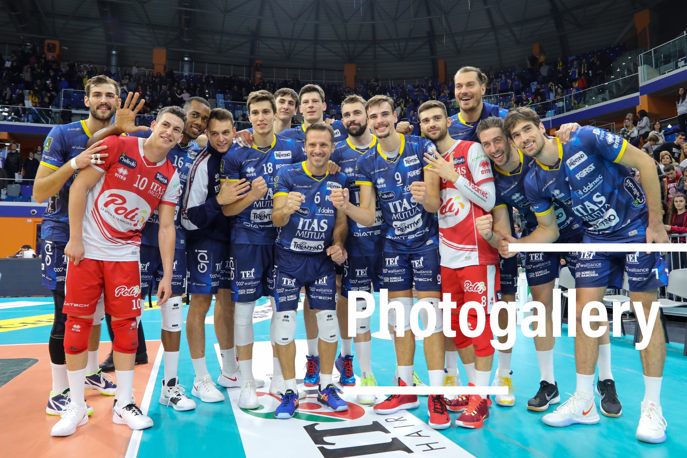 Italy: Photogallery of Allianz Milano-Itas Trentino