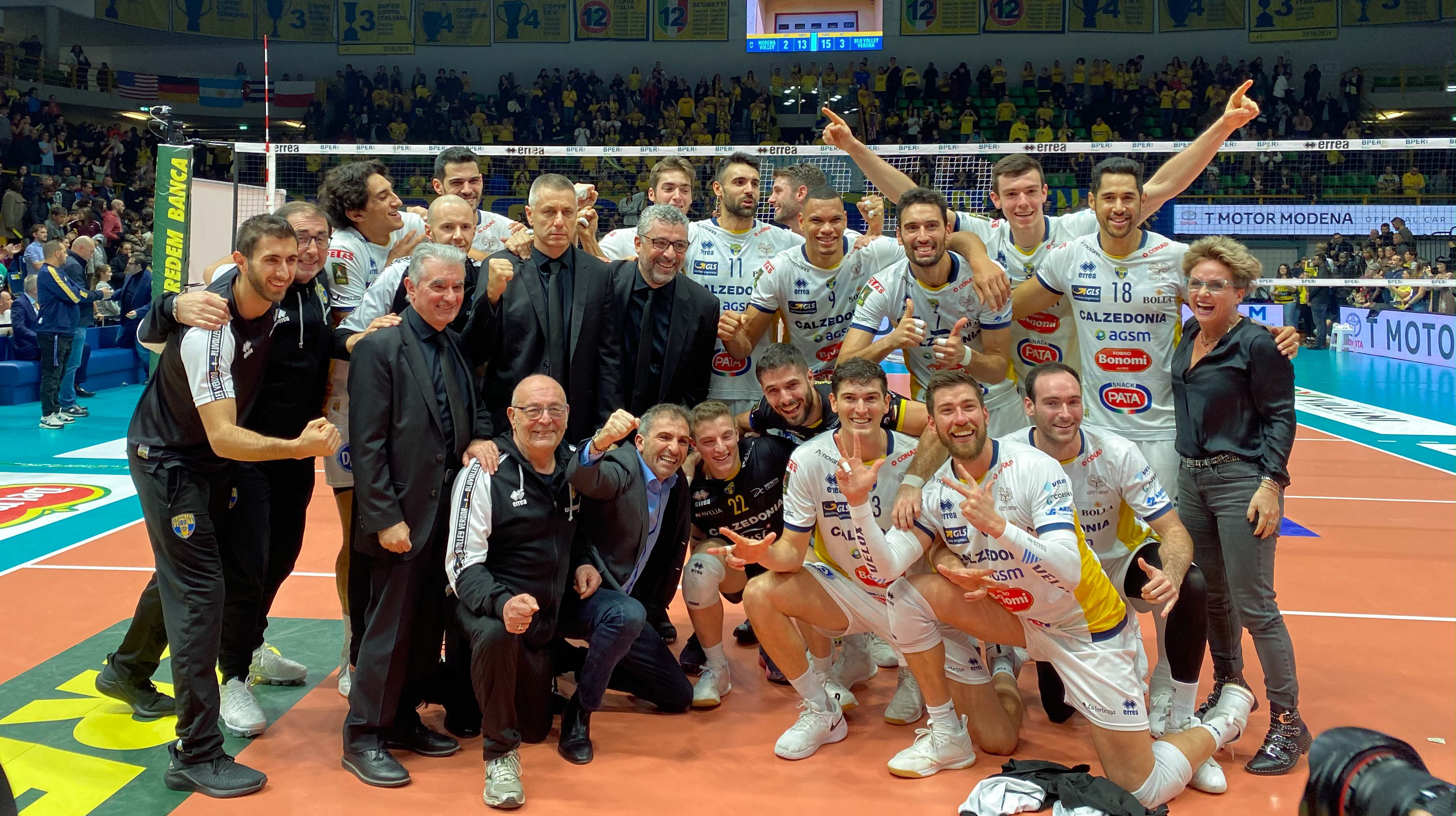 Italy: Verona inflict first home defeat to Modena, surreal performance for Abdel-Aziz – 41 points against Piacenza!