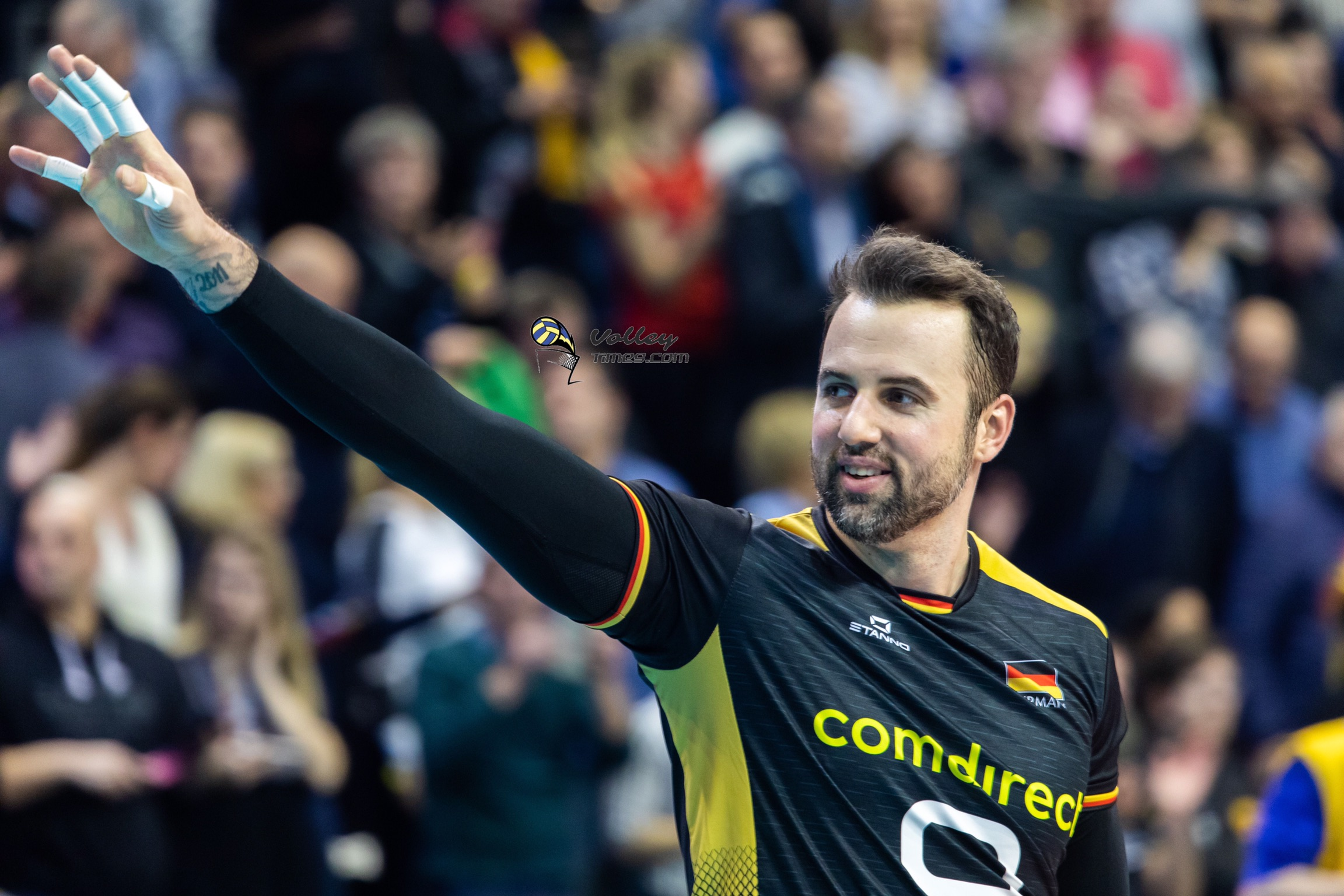Grozer retired from the German national team