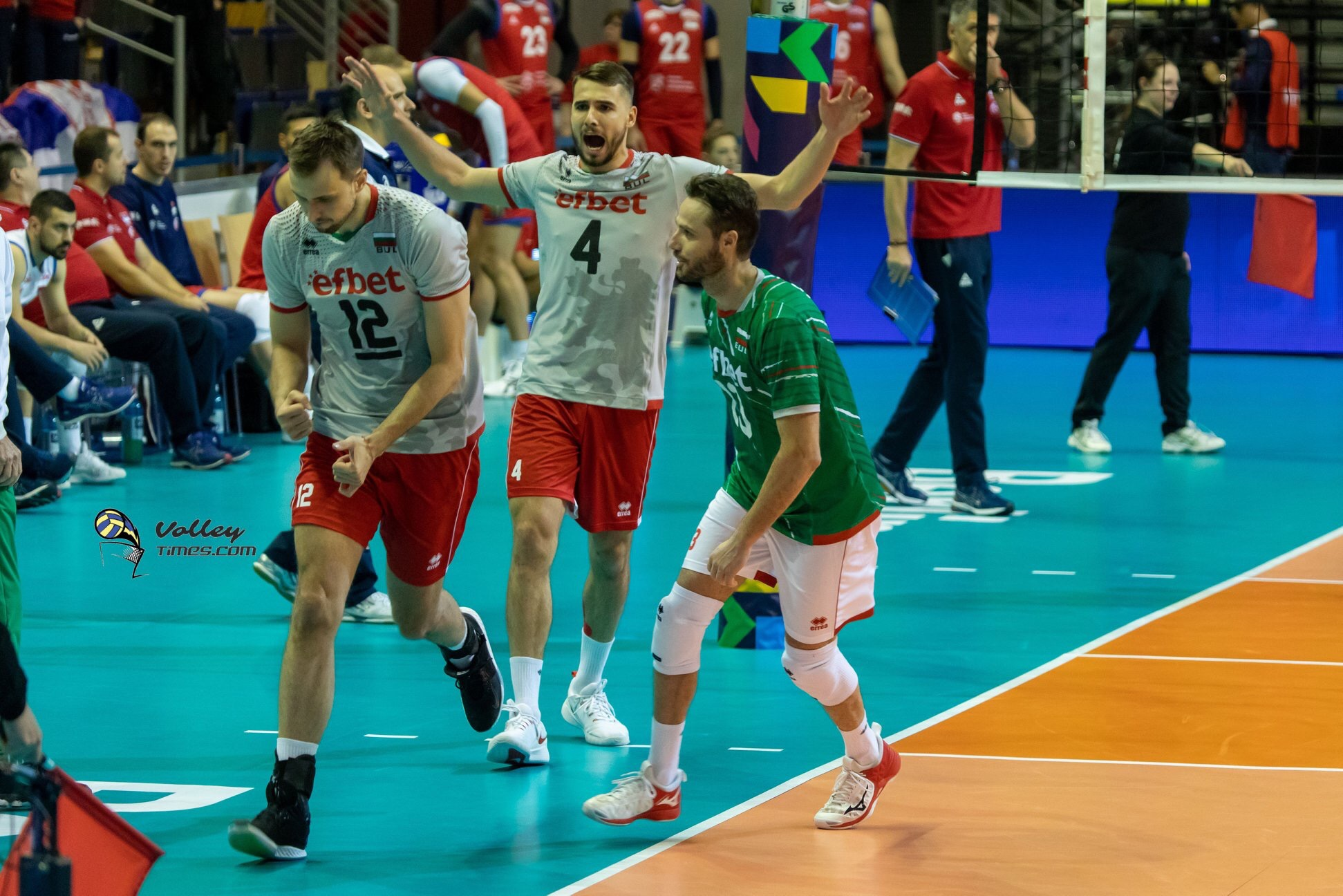 Bulgaria: Yosifov and Salparov say goodbye to national team. Prandi leaves post as head coach.