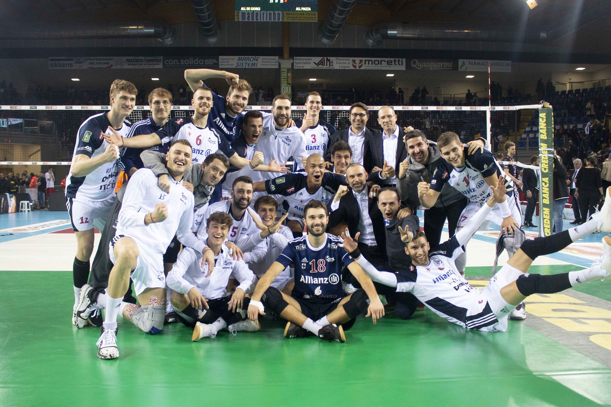 Italy: Abdel-Aziz says STOP – Lube's unbeaten record is over! 9th victory in a row for Perugia
