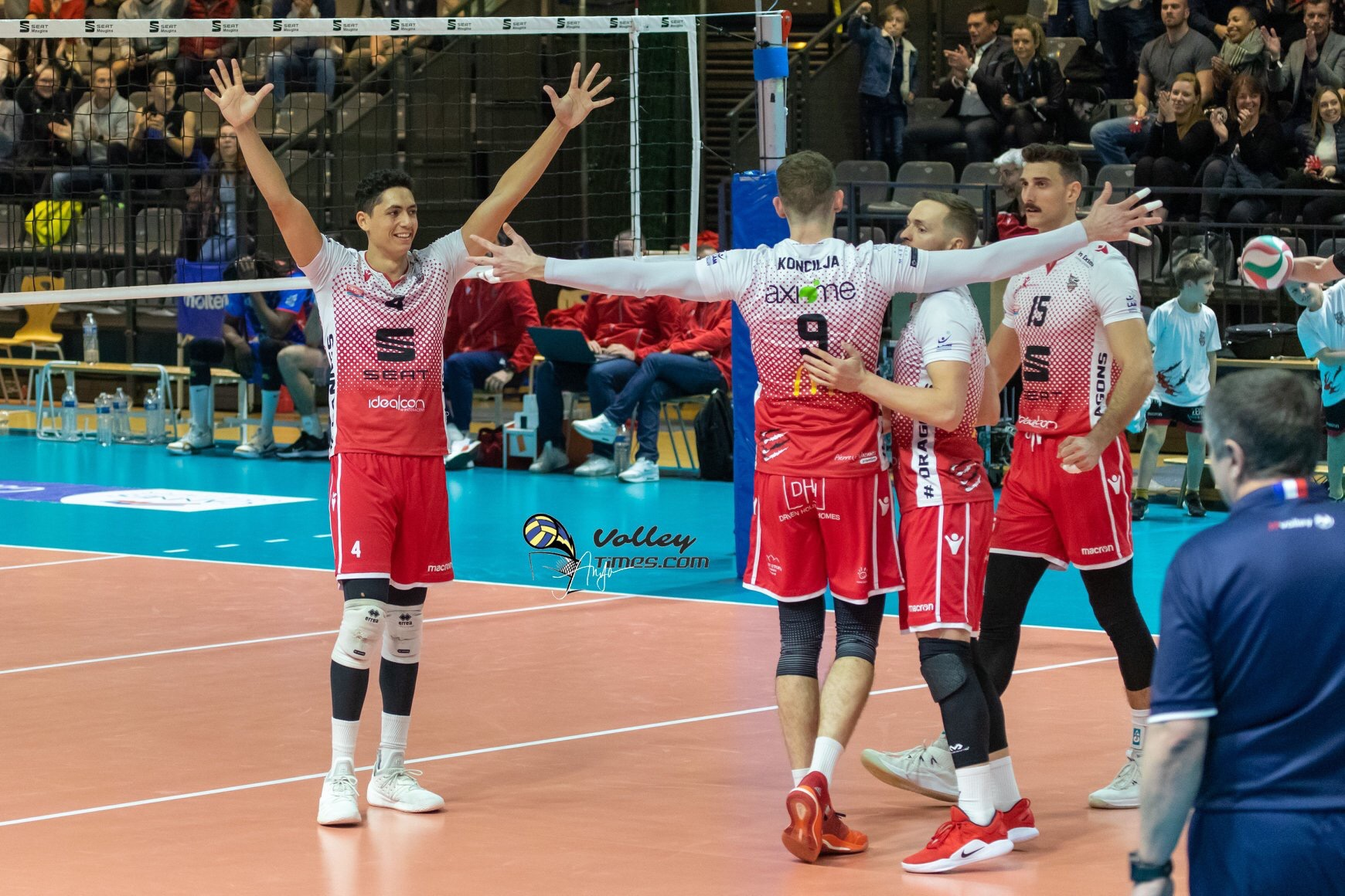 France: Narbonne stops Tours, Chaumont wins the big match, Montpellier, Poitiers, Cannes & Paris ok