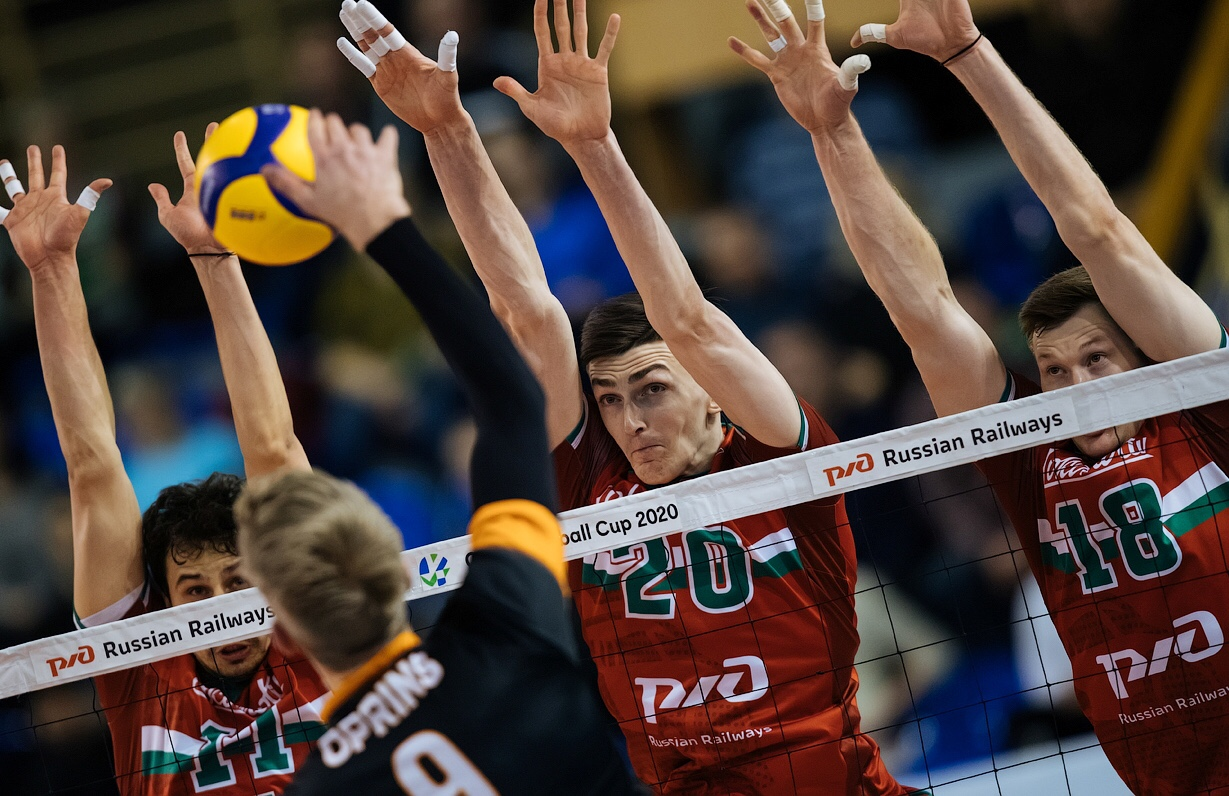 Cev Cup: Lokomotiv, Galatasaray and Modena score first-leg quarterfinal wins