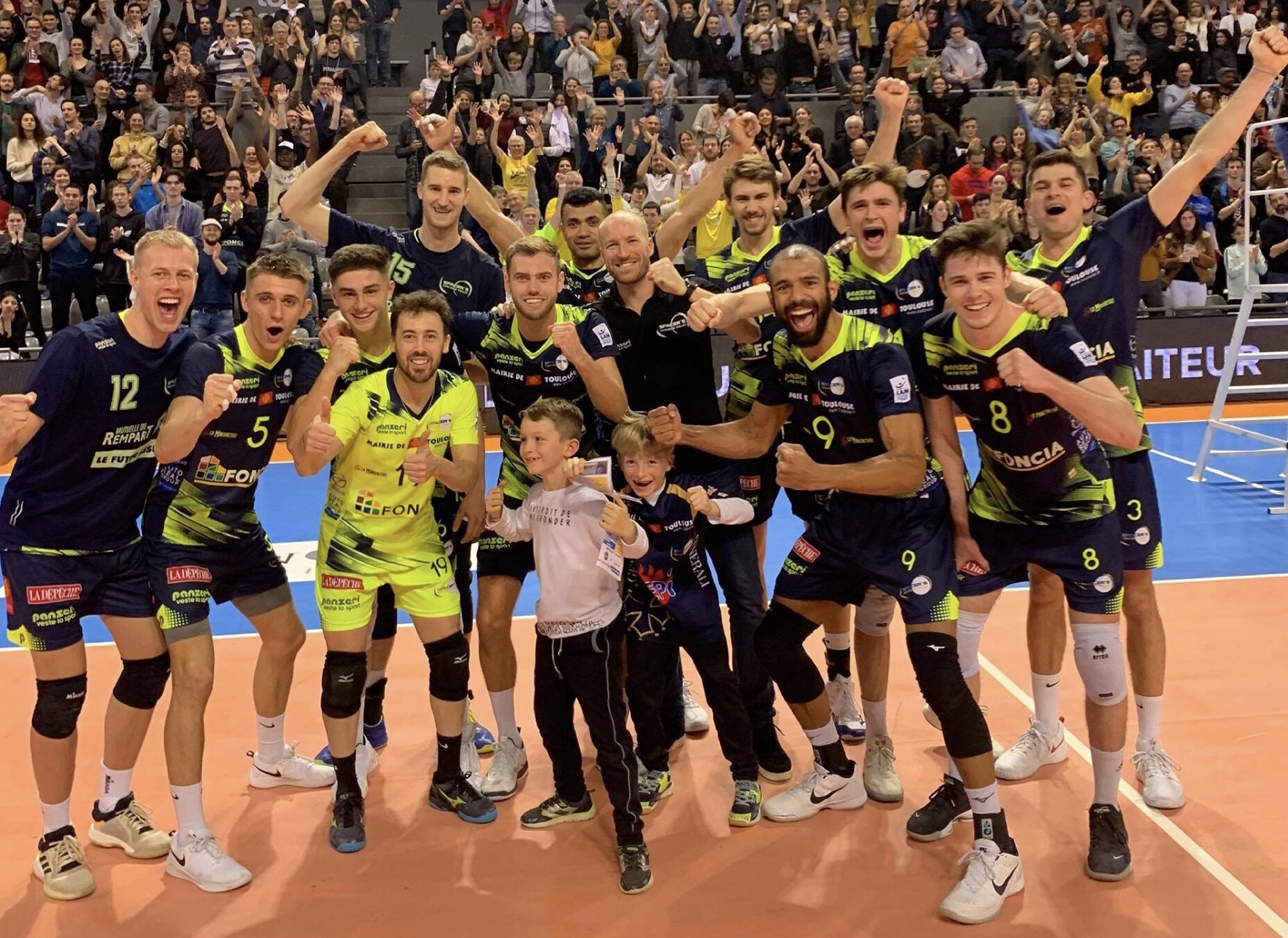 France: Toulouse sweep Tours, Nice beats Cannes with 20 winning blocks, but it is relegated