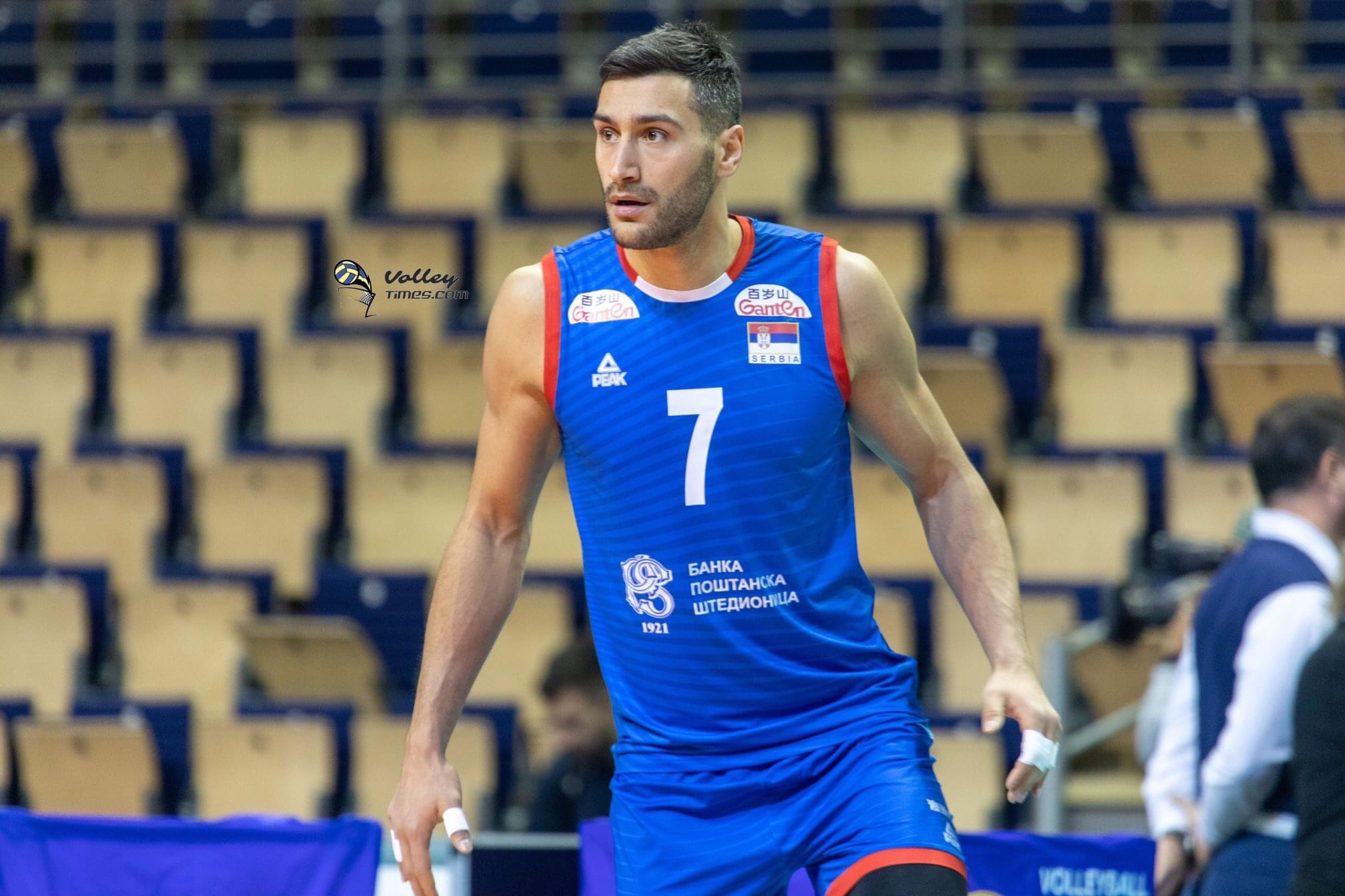 Russia: a Serbian middle-blocker for Kemerovo