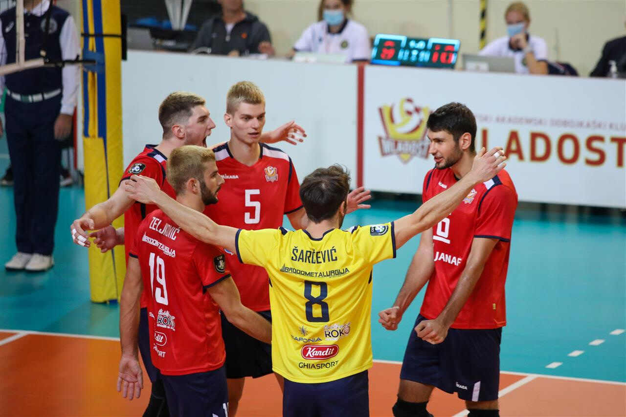 Haok Mladost Zagreb defeats Ach Ljubljana in last match of Mevza League main round