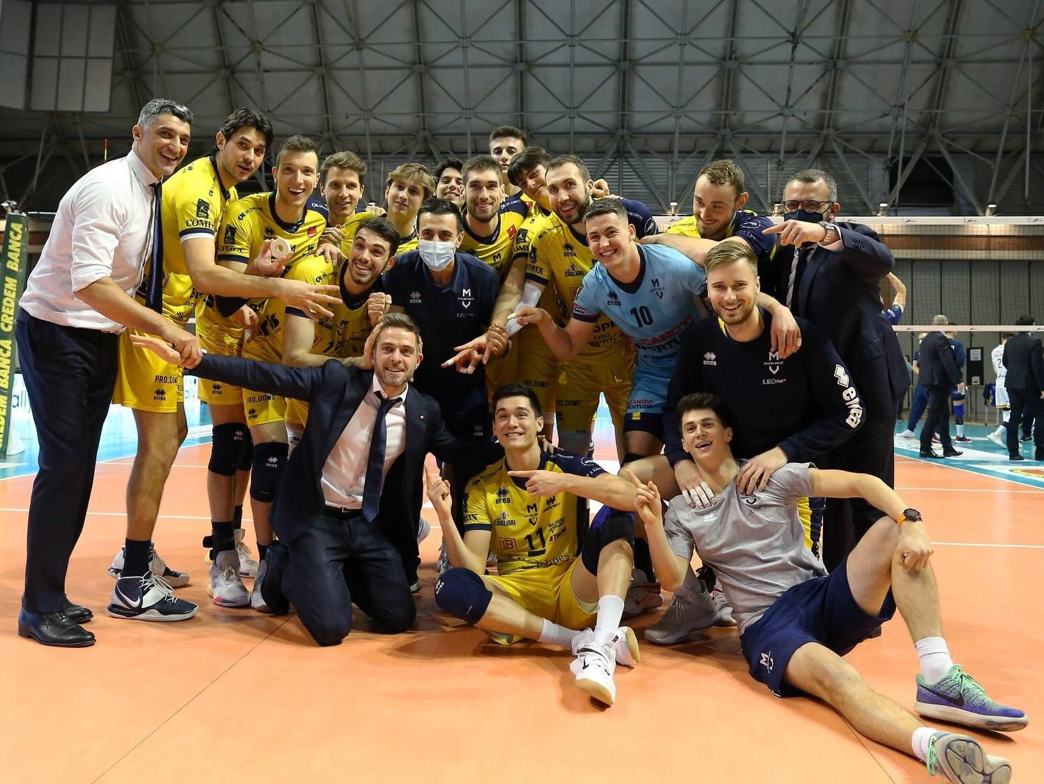 Italy: Modena to quarterfinals! Ravenna demolished in straight sets!