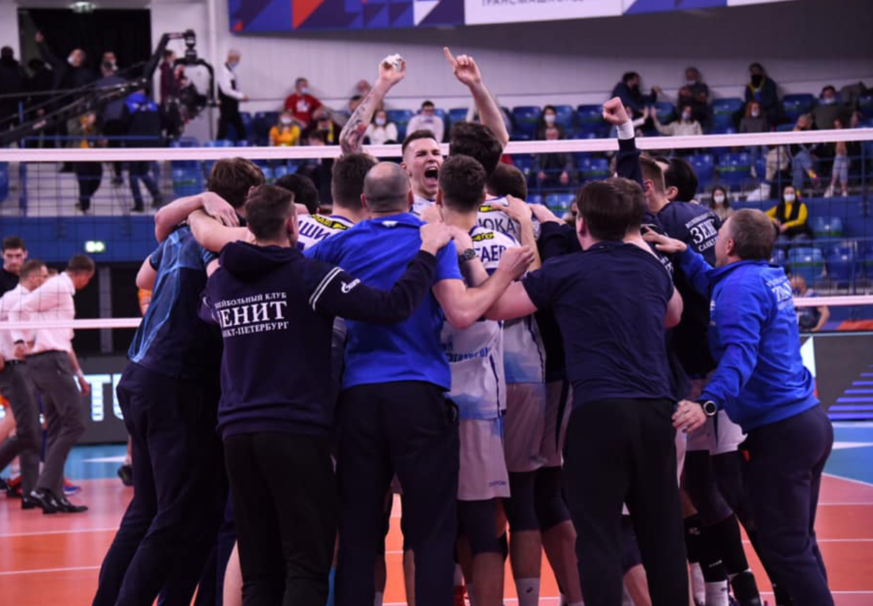 Russia: final is Dinamo Moscow – Zenit St. Petersburg, that will face each other in 3rd final this season! 5th place for Zenit Kazan.