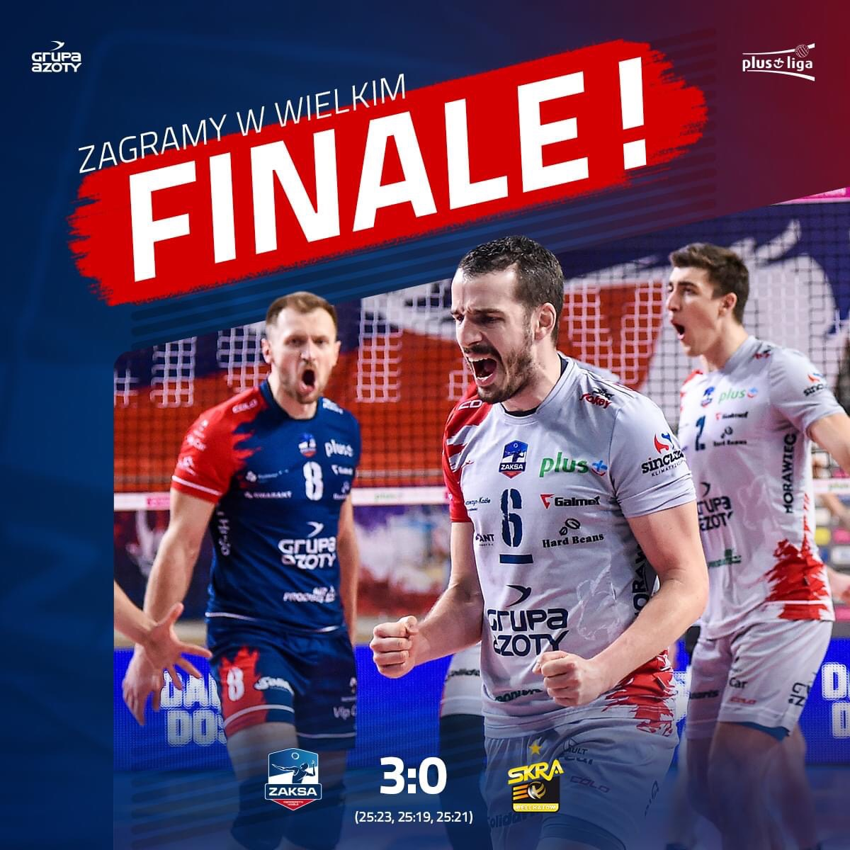 Poland: ZAKSA in final for 5th time in row!