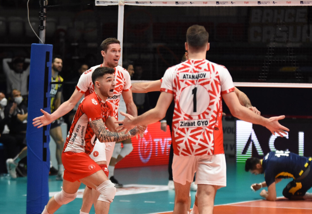 Turkey: Ziraat make one of 3 steps toward winning the title, Galatasaray win Game 1 for 3rd place