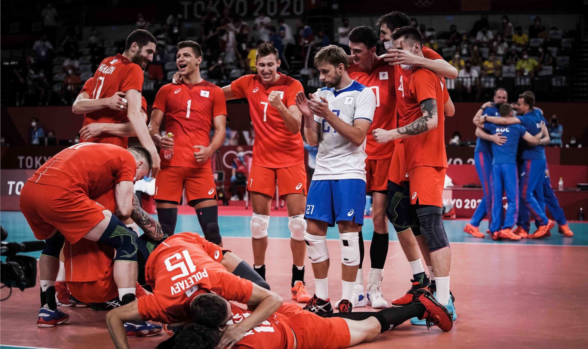 Tokyo 2020: Mikhaylov's 22-point takes ROC back to Olympic final. Brazil defeated in four sets!