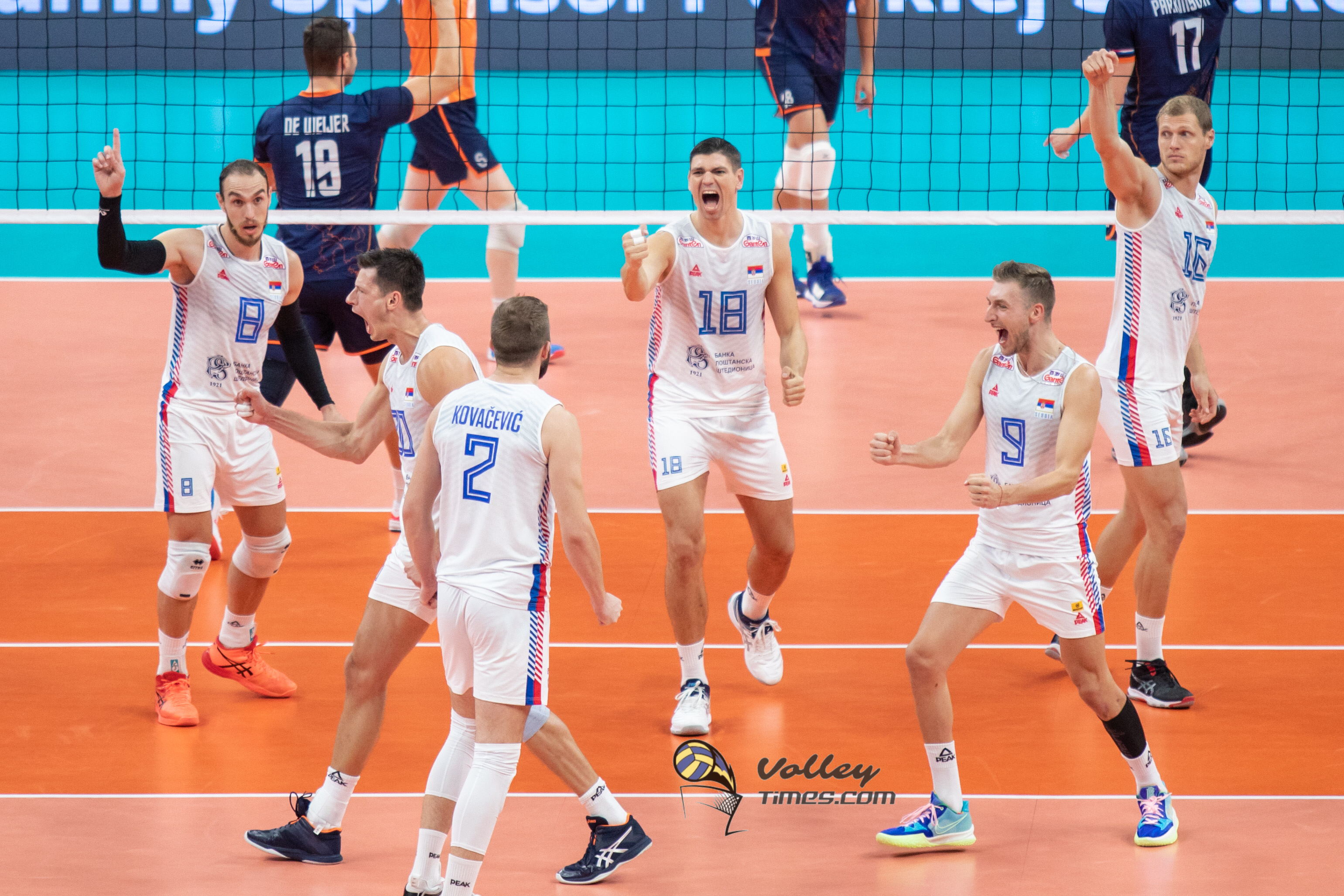 Eurovolley 2021: Serbia  shows its real face to become first semifinalist! Poland destroys Russia