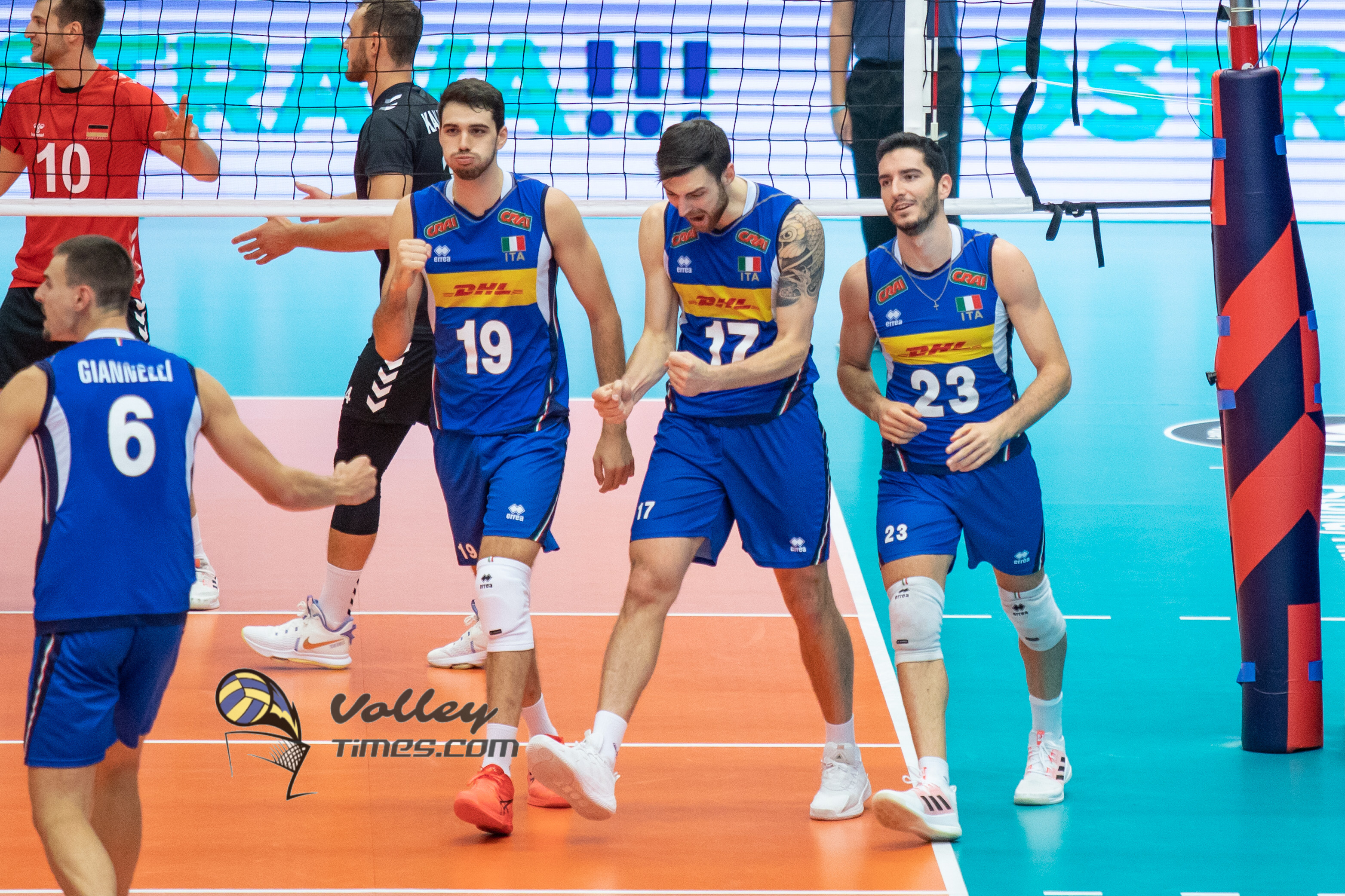 Eurovolley 2021: Italy wrecked an unrecognizable Germany to claim a spot in semifinal. Slovenia last semifinalist!