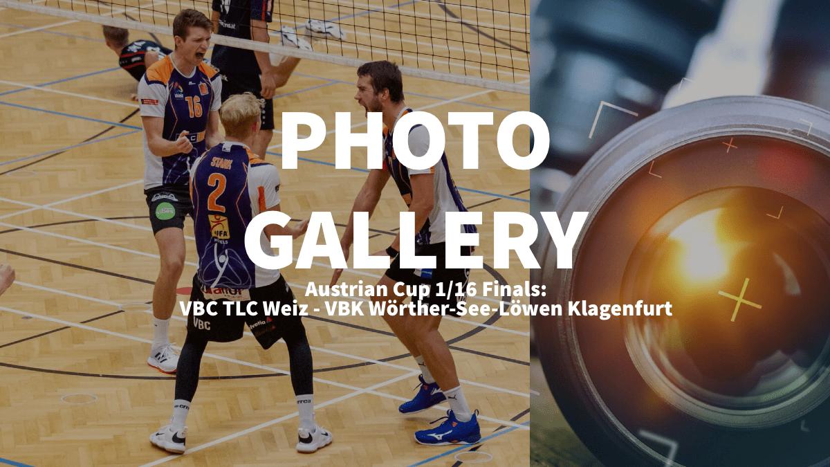 Austrian Cup: Photogallery of VBC TLC Weiz – VBK Wörther-See-Löwen Klagenfurt
