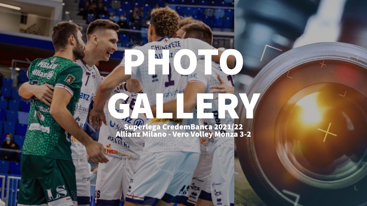 Italy: Photogallery of Allianz Milano – Vero Volley Monza