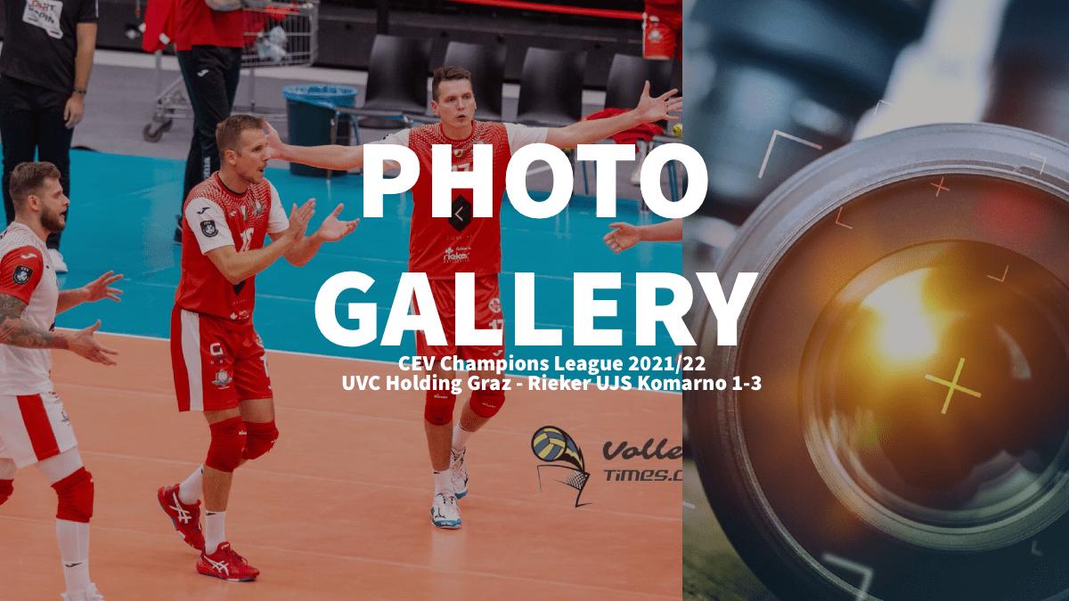 Champions League: Photogallery of UVC Holding Graz – Rieker UJS Komarno