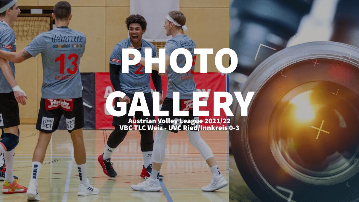 Austria: Photogallery of VBC TLC Weiz – UVC Ried/Innkreis
