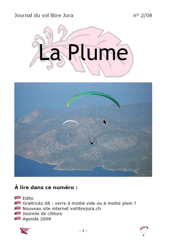 Plume 02 2008