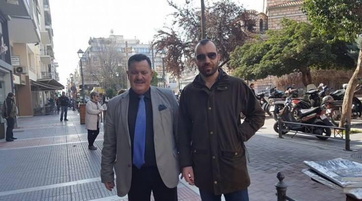 Οι κουμπάροι Παππάς και Ηλιόπουλος βγήκαν…βόλτα!