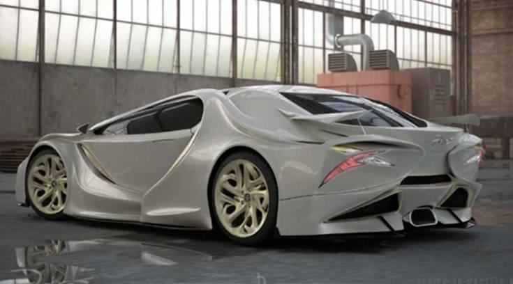 Έλληνας σχεδίασε το πρώτο ελληνικό υπέρ-αυτοκίνητο εμπνευσμένο από γλάρο